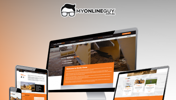 Jimmy at My Online Guy completed our new Rocks Gone website to a high standard in a very tight timeframe.